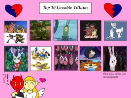 10 Villains that I Find Lovable by KessieLou