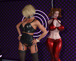 BlackRaven and Miss Domina. Intimate Rivalry (2) by DreamCandice