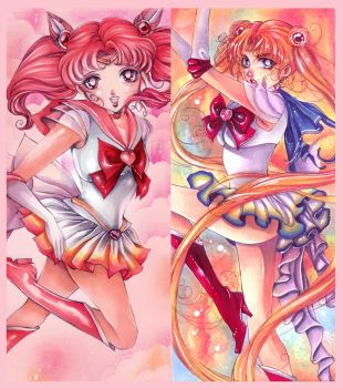 Sailor Moon Bookmark Design by Giname