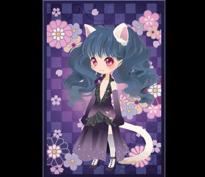 Takako (Oc info) Japanese Cat Witch by SadnessFemBoy2016