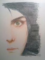 The eye of Gerard by KnifeInToaster