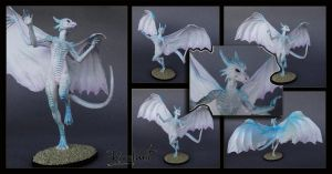 White dragoness by rivalmit