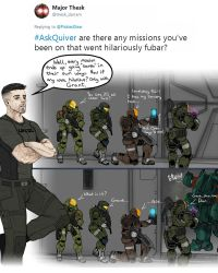 Ask Quiver 3: FUBAR by Guyver89