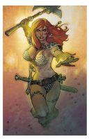 Red Sonja She-devil with an Axe by StephaneRoux
