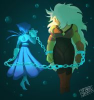 SU- Lapis and Jasper by MadJesters1
