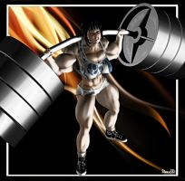 Lin's Lifting 2 by Stone by vince3