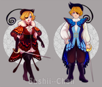 [CLOSED] Butterfly Swordsmen Bundle (Set Price) by Sushii--Chan