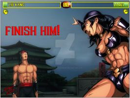 MK rematch - Li mei vs Liu Kang 3 by TheInsaneDarkOne
