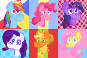Ponies! by 4CatsinaBoat