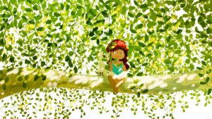 Up a tree! by PascalCampion