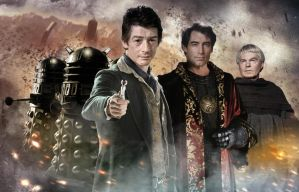 DOCTOR WHO 50th ANNIVERSARY : Time War by MrPacinoHead