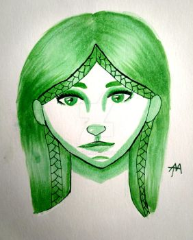 Copic Cleo by AriaGrill