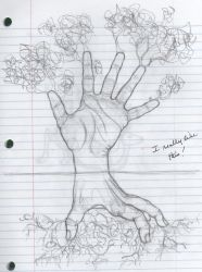 Hand Tree 2 by Dragimal