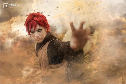 Gaara of the Sand by NIC-Official