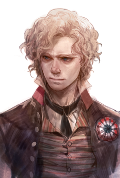 Les Miserables - Leader in red by prema-ja