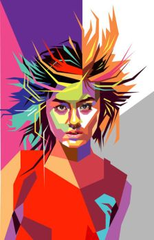 Agnes Monica in WPAP by wedhahai