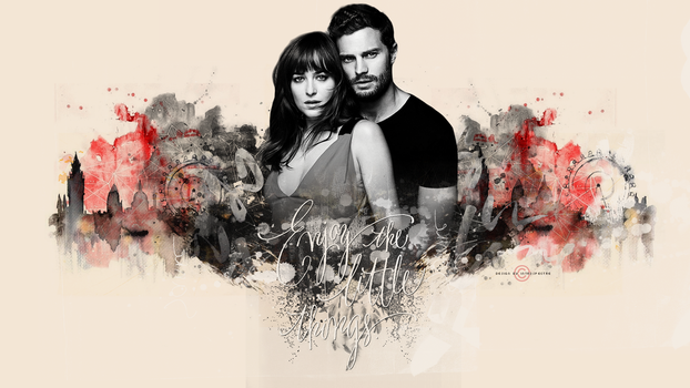 fifty shades of grey wallpapers by 1TYMillenium