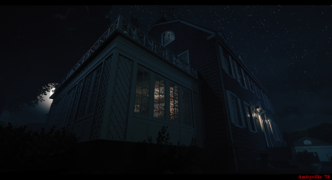 Amityville Horror House by metonymic