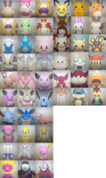 themed shiny pokemon batch 4 rodents/rabbits: open