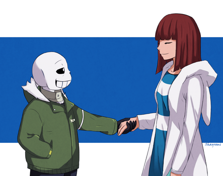 Undertale- Stand-in by Shayromi