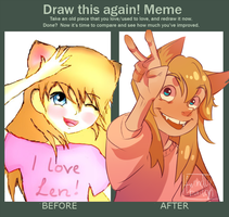 Before and after // meme by friendlyburden