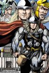 Thor away from Asgard by leandro-sf