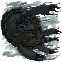 Nightmare Turdle HUGE by nyausi