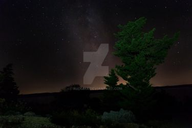 Milky Way Baric Draga Croatia by rudoma