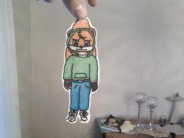 Stop holding me! (paper cutout) by LolMovedAccount