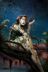 Poison Ivy Colored by EVE-ec