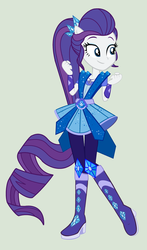 MLP Rarity Transformation Legend of Everfree by YulianaPie26