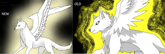 Old-New Comparison by Radioactive-Wolf
