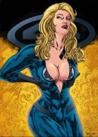 Invisible Woman_Colorart. by Troianocomics