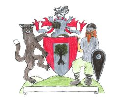 Arms of Grand Duke of Upper NY by ayellowbirds