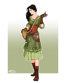 Commission - Rowan by luinquesse