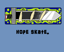 knight of the wind hope skate co. by pengiun12