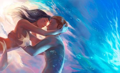 Love under the sea by Mely-Val