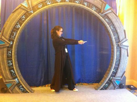 The Doctor And The Stargate by Javott