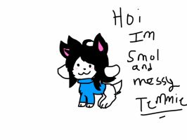 Temmie Request by TheFloweyfanclub
