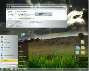 Silver smooth 7 theme by fares123