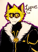 Lupus (from MiyuKey's 'Down') by ArrowAzura