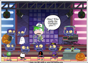 Poptropica Zomberry by Catepiller