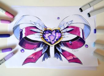 Sailor Saturn Emblem by Lighane