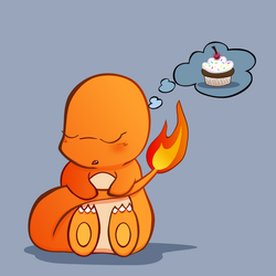 Sweet Dreams, Charmander by Cow-Tail