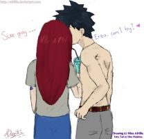 Gray Erza Kiss? drink by afrillia