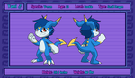 Yami the Veemon Reference by Vee4evaa