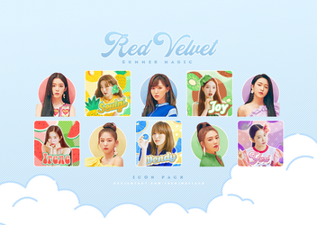 [ICON PACK] Red Velvet / Summer Magic by TsukinoFleur