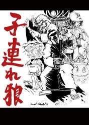 Lone Wolf and Cub by vincoboy