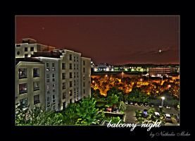 balcony-night by dieZera