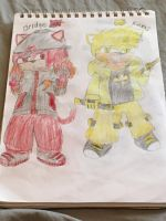 Sonic OC Redesigns 3/5: Bridge and Roxas  by SlyZeke101